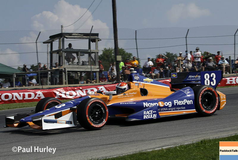 August 1-3: Charlie Kimball at the Honda Indy 200 at Mid-Ohio.