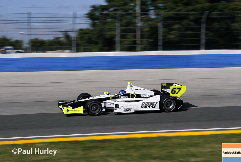 August 17: Josef Newgarden at the Wisconsin 250 at Milwaukee Indyfest.