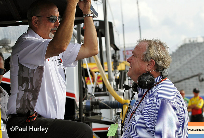 August 16: Bobby Rahal and Dale Coyne at the Wisconsin 250 at Milwaukee Indyfest.