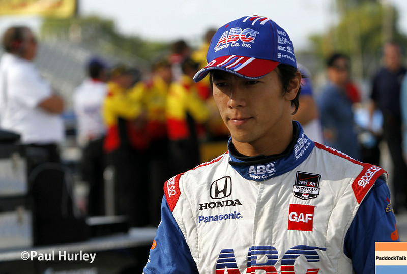 August 16: Takuma Sato at the Wisconsin 250 at Milwaukee Indyfest.