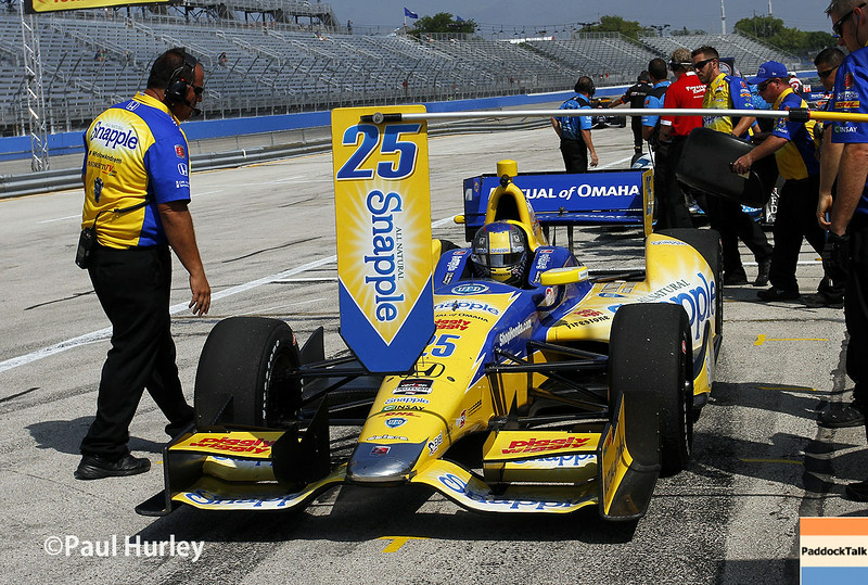 August 16: Marco Andretti at the Wisconsin 250 at Milwaukee Indyfest.