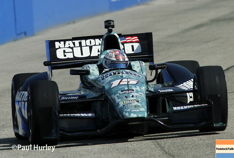 August 16: Graham Rahal at the Wisconsin 250 at Milwaukee Indyfest.
