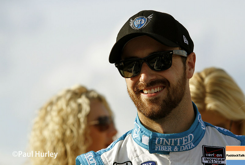 August 16: James Hinchcliffe at the Wisconsin 250 at Milwaukee Indyfest.