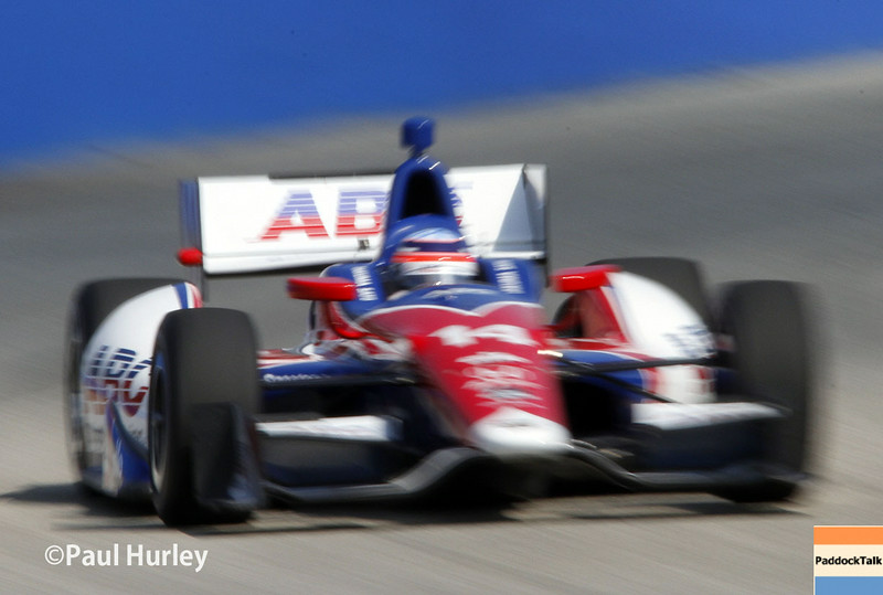 August 16: Takuma Sato at the Wisconsin 250 at Milwaukee Indyfest.