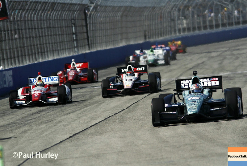 August 17: Main straight at the Wisconsin 250 at Milwaukee Indyfest.