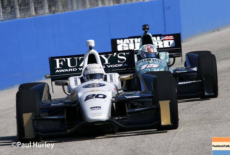 August 16: Ed Carpenter and Graham Rahal at the Wisconsin 250 at Milwaukee Indyfest.