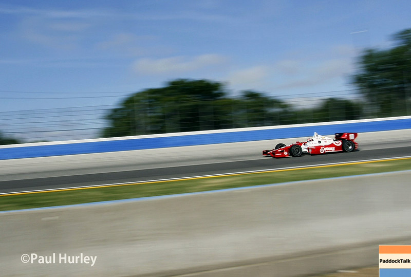 August 17: Tony Kanaan at the Wisconsin 250 at Milwaukee Indyfest.