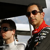 August 16: Will Power and Helio Castroneves at the Wisconsin 250 at Milwaukee Indyfest.