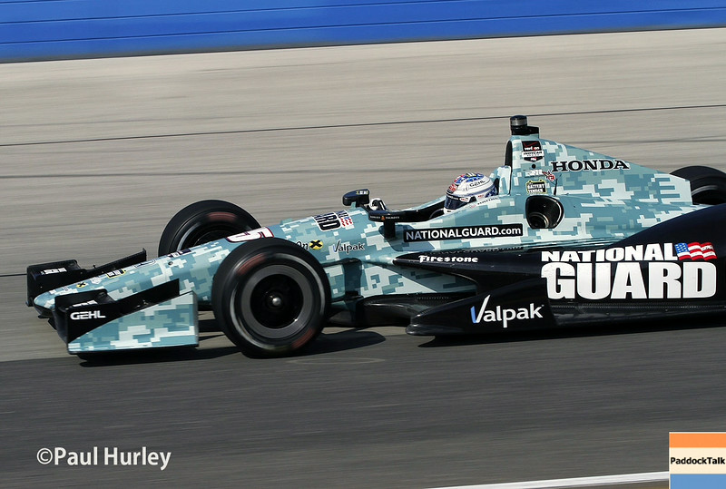 August 17:  Graham Rahal at the Wisconsin 250 at Milwaukee Indyfest.