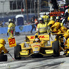 August 17: Ryan Hunter-Reay pit stop at the Wisconsin 250 at Milwaukee Indyfest.