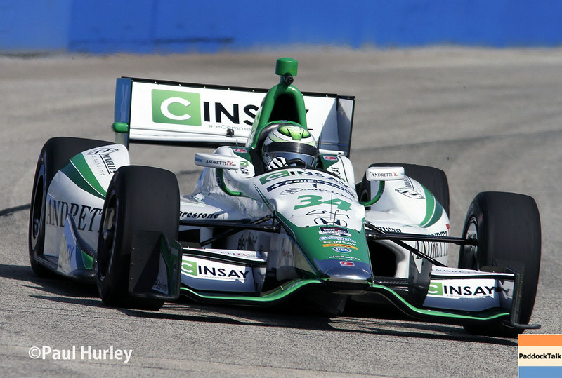 August 16: Carlos Munoz at the Wisconsin 250 at Milwaukee Indyfest.