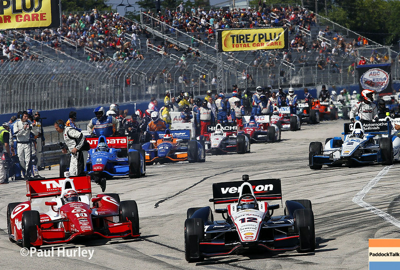 August 17: Pit out at the Wisconsin 250 at Milwaukee Indyfest.
