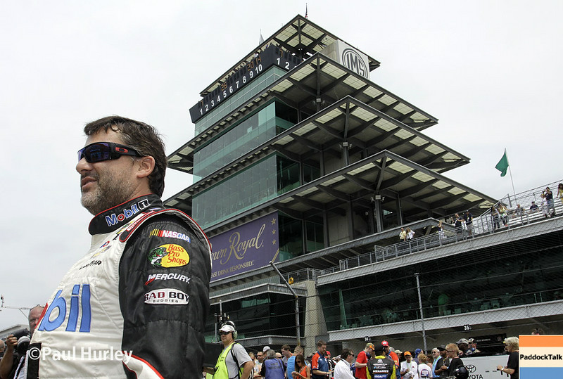 Tony Stewart is one of two drivers with a significant history of success at the Brickyard 400.