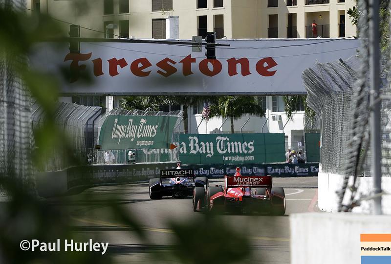 March 30: Turn 3 during the Firestone Grand Prix of St. Petersburg Verizon IndyCar series race.