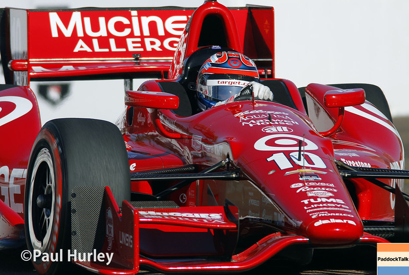 March 30: Tony Kanaan during prerace warm-up for the Verizon IndyCar series Firestone Grand Prix of St. Petersburg.