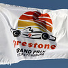 March 30: Event flag during the Firestone Grand Prix of St. Petersburg Verizon IndyCar series race.