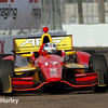March 29:  Sebatian Saavedra during Verizon IndyCar series qualifying for the Firestone Grand Prix of St. Petersburg.