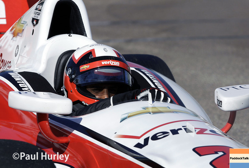 March 30: Juan Pablo Montoya during the Firestone Grand Prix of St. Petersburg Verizon IndyCar series race.