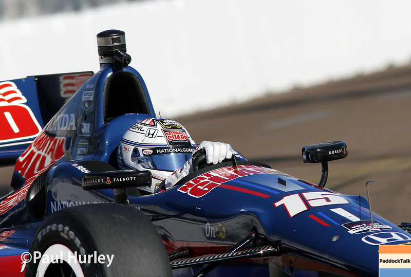 March 30:  Graham Rahal during prerace warm-up for the Verizon IndyCar series Firestone Grand Prix of St. Petersburg.