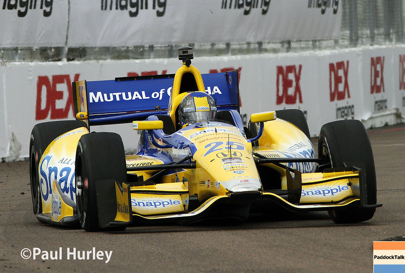 March 29:  Marco Andretti during Verizon IndyCar series qualifying for the Firestone Grand Prix of St. Petersburg.