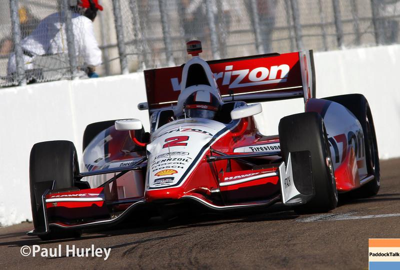March 30: Juan Pablo Montoya during the Firestone Grand Prix of St. Petersburg Verizon IndyCar series race.