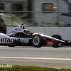 March 29:  Helio Castroneves during Verizon IndyCar series qualifying for the Firestone Grand Prix of St. Petersburg.