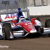 March 29:  Takuma Sato during Verizon IndyCar series qualifying for the Firestone Grand Prix of St. Petersburg.