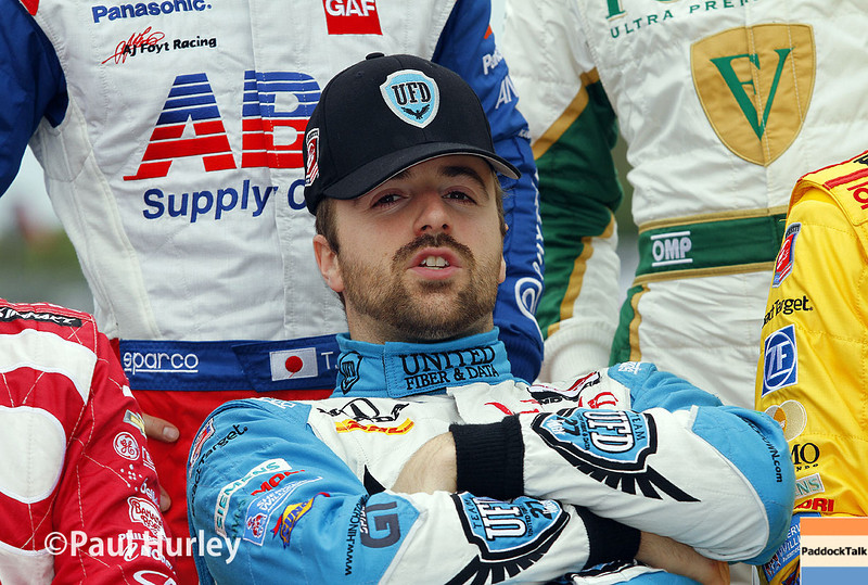 March 28: James Hinchcliffe during Verizon IndyCar series practice for the Firestone Grand Prix of St. Petersburg.