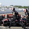 March 30: Pit stops during the Firestone Grand Prix of St. Petersburg Verizon IndyCar series race.
