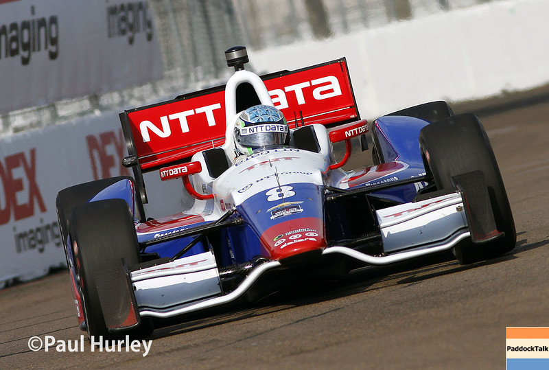 March 29:  Ryan Briscoe during Verizon IndyCar series qualifying for the Firestone Grand Prix of St. Petersburg.