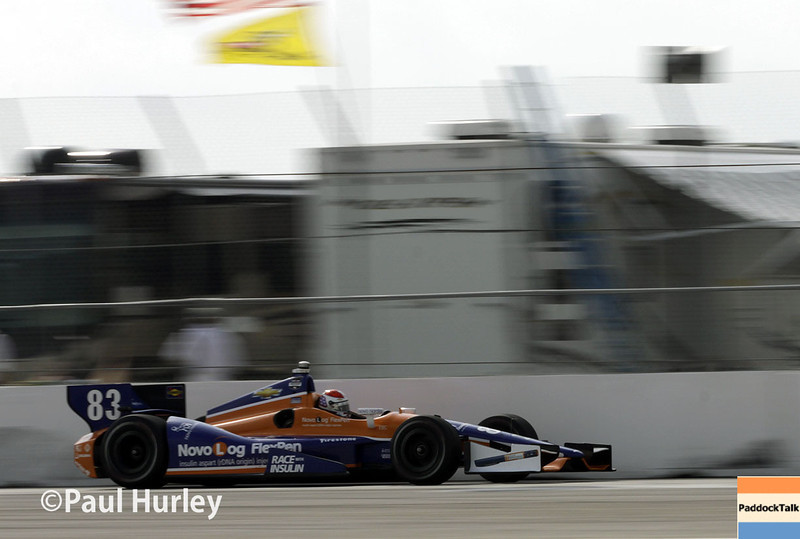 March 29:  Charlie Kimball during Verizon IndyCar series qualifying for the Firestone Grand Prix of St. Petersburg.