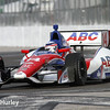 March 30:  Takuma Sato during prerace warm-up for the Verizon IndyCar series Firestone Grand Prix of St. Petersburg.