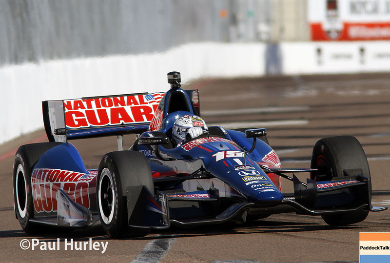 March 30:  Graham Rahal during prerace warm-up for the Verizon IndyCar Firestone Grand Prix of St. Petersburg.