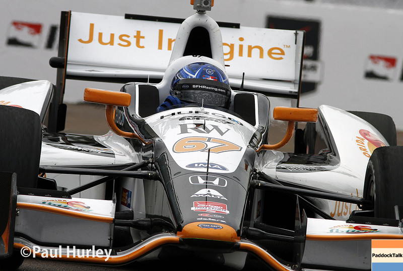 March 28: Josef Newgarden during Verizon IndyCar series practice for the Firestone Grand Prix of St. Petersburg.
