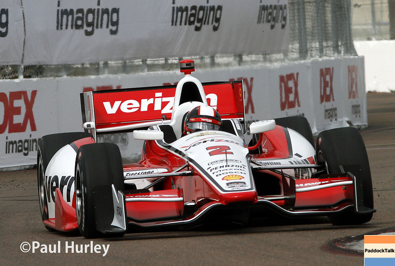 March 29:  Juan Montoya during Verizon IndyCar series qualifying for the Firestone Grand Prix of St. Petersburg.