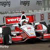 March 29:  Juan Montoya during Verizon IndyCar series qualifying for the Firestone Grand Prix of St. Petersburg.
