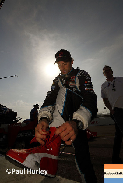 March 29:  Simon Pagenaud during Verizon IndyCar series qualifying for the Firestone Grand Prix of St. Petersburg.