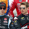 March 28: Simon Pagenaud and Will Power during Verizon IndyCar series practice for the Firestone Grand Prix of St. Petersburg.