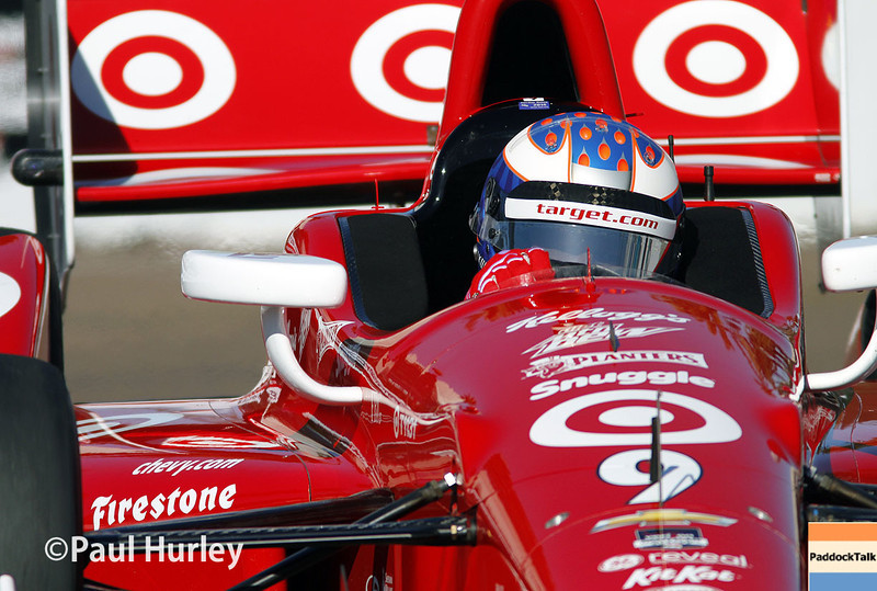 March 30:  Scott Dixon during prerace warm-up for the Verizon IndyCar series Firestone Grand Prix of St. Petersburg.