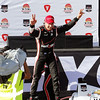 March 30: Will Power celebrates during the Firestone Grand Prix of St. Petersburg Verizon IndyCar series race.