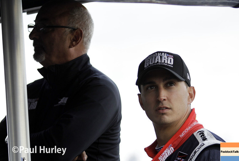 March 30: Bobby Rahal and Graham Rahal during prerace warm-up for the Verizon IndyCar series Firestone Grand Prix of St. Petersburg.