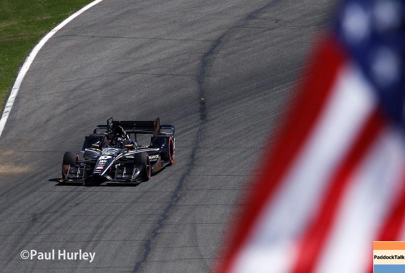 April 26: Josef Newgarden during the Honda Indy Grand Prix of Alabama.