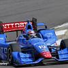 April 26: Tony Kanaan during the Honda Indy Grand Prix of Alabama.