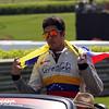 April 26:  Rodolfo Gonzalez before the Honda Indy Grand Prix of Alabama.