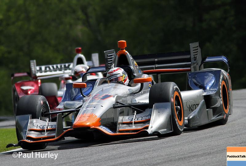 April 26: Stefano Coletti during the Honda Indy Grand Prix of Alabama.