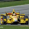 April 26: Ryan Hunter-Reay during the Honda Indy Grand Prix of Alabama.