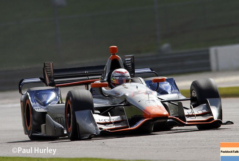 April 26: Stefan Coletti during the Honda Indy Grand Prix of Alabama.