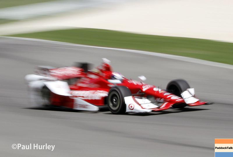 April 26: Scott Dixon during the Honda Indy Grand Prix of Alabama.
