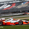 May 8: Simon Pagenaud during qualifying for the Angie's List Grand Prix of Indianapolis.