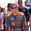 May 24: Simona de Silvestro before the 99th Indianapolis 500.